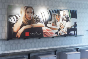 Bulova Frontlit Fabric and frame